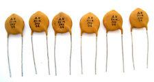 High Voltage Ceramic Disc Capacitors: 390pF 2000V: 6/Lot: Great Price