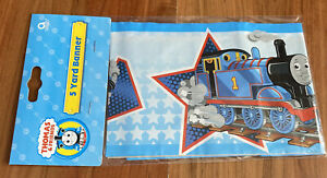 Thomas the tank engine 5 yard party banner. Brand new sealed