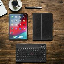 Starter Set: Keyboard, Stylus, PU Leather Case Cover for Apple iPad Pro 11 inch