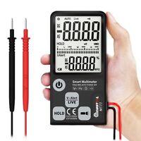 6000 Counts Smart Digital Multimeter AC/DC Voltmeter LCD Tester 3-Line Display