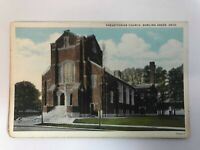 Presbyterian Church Bowling Green, Ohio Vintage Post Card Not Posted