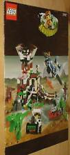 LEGO 5987 Adventurers Dino Research Compound Instructions Only