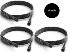 3 x Cable Extension 5m Outdoor Philips Hue, Lily, Calla, Impress, Lightstrip..