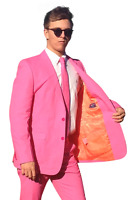 PINK SUIT Brightly Coloured Suits Prom Suits Wedding Suits Stag Suits Crazy Suit