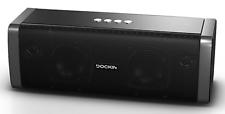 DOCKIN Bluetooth Lautsprecher D Fine 50W 2-Wege Stereo Powerbank Akku 10h IP55