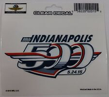 2015 Indianapolis 500 Event Collector Decal Indy 500 Grand Prix of Indianapolis