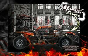 LOSI 5IVE-T / 2.0 STOCK AND 30° NORTH BIG FLEX BODY HELL RIDE GRAPHICS WRAP SKIN