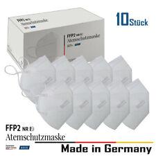10x FFP2 Maske Mundschutz Atemschutzmaske Masken Deutsche Herstellung  ⚫️🔴🟠