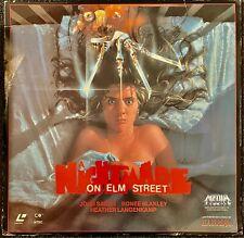 NIGHTMARE ON ELM STREET Wes Craven Heather Langenkamp LASER DISC