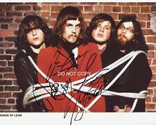 """Kings of Leon band 8x10"""" Reprint Signed Autographed Photo #1 RP Followill"""