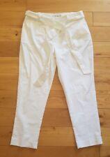 Boden White Natalia Cravate Pantalon, WM476, taille UK 20R-New without tags
