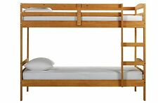 Solid Wood Beds with Coil Spring Mattresses for Children