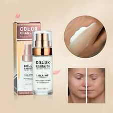 TML Colour Changing Foundation Makeup Base Nude Face Liquid Cover Concealer RW