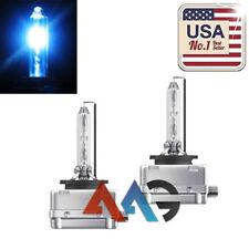 2x HID Xenon D3S D3R D3C 10K for Osram Philips Headlight High And Low Beam Bulbs