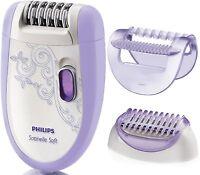 PHILIPS HP6509 Satinelle Soft Sensitive Ladies Epilator + Shaver  *NEW* HP 6509