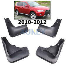 SET FIT FOR 2010 2011 2012 MITSUBISHI OUTLANDER MUD FLAP FLAPS SPLASH GUARDS