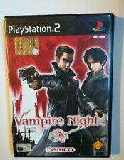 VAMPIRE NIGHT  PS2 - OTTIME CONDIZIONI - VERSIONE ITALIANA
