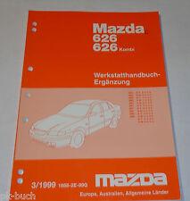 Werkstatthandbuch Mazda 626 / Kombi Station Wagon GF / GW Bremsen, St.03/1999