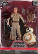 Rey BB-8 Star Wars Elite Series die cast 6 action figure w lightsaber NEW IN BOX