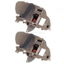 Qty2pcs Interior Beige Front/Rear Left Side Door Handle For 95-99 CHEVRY K2500