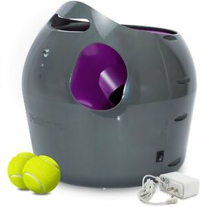 Automatic Pet Trainer Dog Ball Thrower Interactive Activity Toy Outdoor Launcher