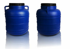 Plastic barrel 40L Water Storage Container Drum Keg Food Grade Tank Screw Open