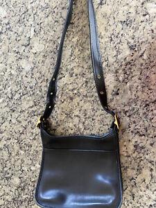 Coach Leather Janice Legacy Zip Shoulder Bag 9966 Black, Vintage, USA