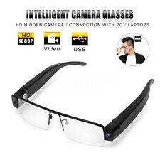 1080P HD Hidden Camera Eyewear Security Video Recorder DVR Glasses Camcorder