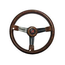 350mm 6 Hole Wood Style 3 Spoke Steering Wheel 8906-A