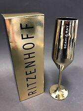 RITZENHOFF Scavi & Ray Prosecco Gold Glas Sekt Momento D'oro NEU OVP