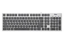 Trust 406977 - Tastatur (Portugiesisches QWERTY, USB), grau