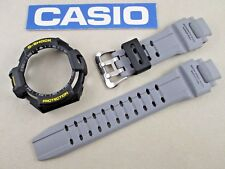 Genuine Casio G-Shock Sky Cockpit GA-1000-8 watch band & bezel grey black resin