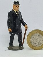 JoHillCo 54mm hollow-cast lead gentleman passenger figure for farm or railway