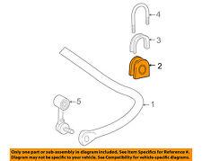 GM OEM Stabilizer Sway Bar-Rear-Bushing 15639063