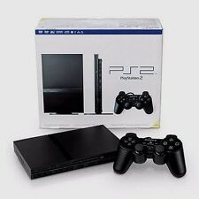 Sony PlayStation 2 Slim Charcoal Black Console  (SCPH-79001CB) Not Working