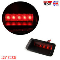 1x Universal Red 5LED Car High Mount Level Third 3RD Brake Stop Rear Tail Light