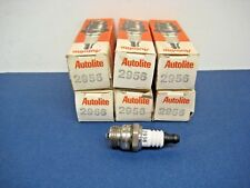 6 - Autolite Spark Plugs # 2956  Free Shipping