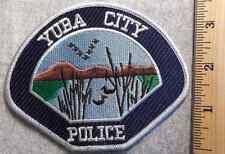 YUBA CITY CALIFORNIA POLICE PATCH (HIGHWAY PATROL, SHERIFF, EMS)