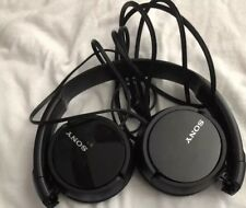 Sony MDR-ZX110 Stereo Monitor Over-Head Headphones Black MDRZX110