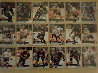 1991-92 Pro Set VANCOUVER CANUCKS Team Set - 26 Cards - BURE LINDEN MCLEAN LUMME