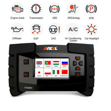 ANCEL OBD2 Scanner SRS ABS SAS Gearbox EPB Oil EPB Diagnostic Full System Tool