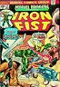 Marvel Premiere Featuring: Iron Fist #17 (Sep 1974, Marvel) - Good/Very Good