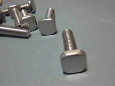 "Track Bolts, 1/4-20 x 3/4"" Stainless Steel, 12 Pcs., Storm Panels, Square Head"