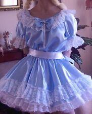 CD ADULT BABY SISSY BLUE DRESS