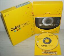 Microsoft MAC Office 2011 Home and Student Vollversion / DVD / deutsch GZA-00139