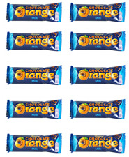 903506 10 x 35g BARS OF TERRY'S CHOCOLATE ORANGE MADE WITH REAL ORANGE CANDY BAR