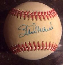 STAN MUSIAL AUTOGRAPHED SIGNED ONLB BASEBALL Rare Charles Feeney Ball Cardinals