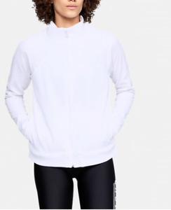 Under Armour Armour Fleece® Full Zip Women's Jacket 1317892 White XL NWT $65