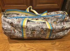 Pottery Barn Kids Wonder Woman Large Duffle Bag Handles Shoulder Strap
