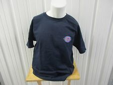 VINTAGE CHAMPION AUTHENTIC LARGE LOGO NAVY XL T SHIRT 100% COTTON NEW W/ TAGS